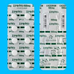 Dainihonsumitomo Excegran 100mg x 100 tablet / Лекарственный препарат Excegran от эппилепсии