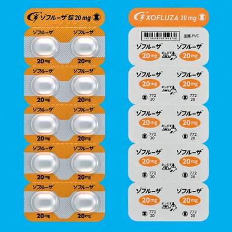 XOFLUZA Tablets 20mg:10 tablets