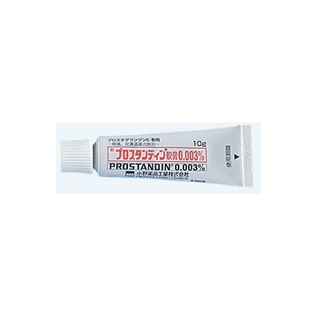 PROSTANDIN 0.003% Ointment  10mg x 10 / Мазь против различных кожных язв