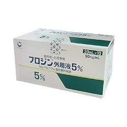 "Nipro-patch ""Furozin"" solution 5% x 10 bottles"